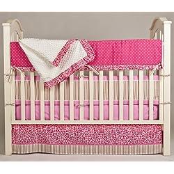 Pam Grace Creations Crib Bedding Set, Simply Cheetah