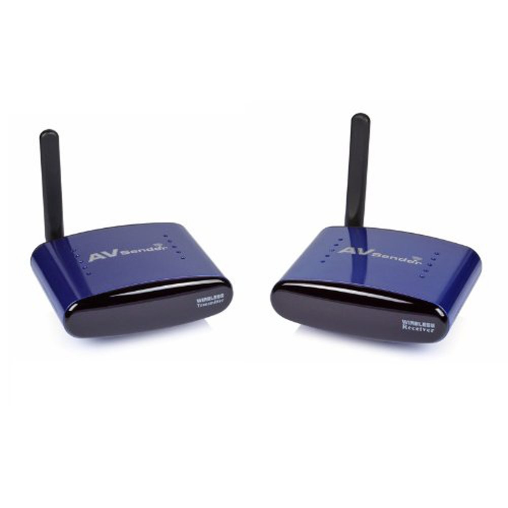 SainSonic SS-630 5.8GHZ 8 Channels AV Wireless Audio Video Transmitter & Receiver 100M by SainSonic