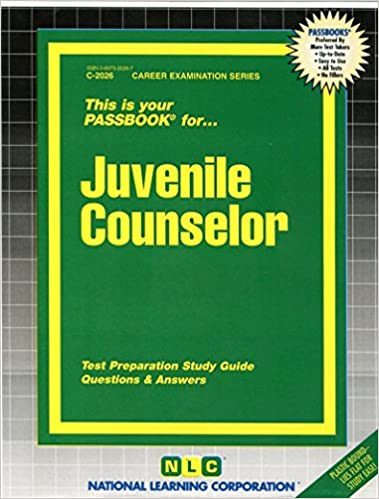 Amazon.com: Juvenile Counselor(Passbooks) (Career Examination ...
