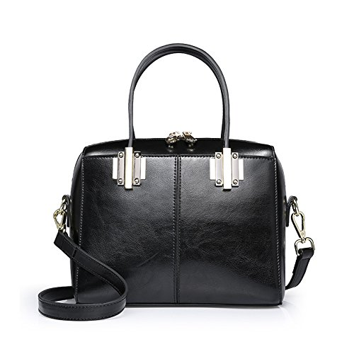 GUANGMING77 Boston_Tasche Tasche Weiblichen Winter Beutel Crossbody Alle-Match Tide Portable Frau black