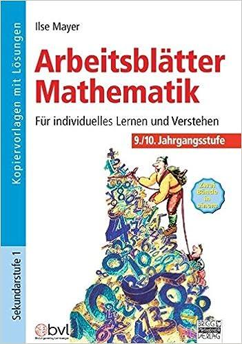 Arbeitsblätter Mathematik: 9./10. Jahrgangsstufe - Kopiervorlagen ...