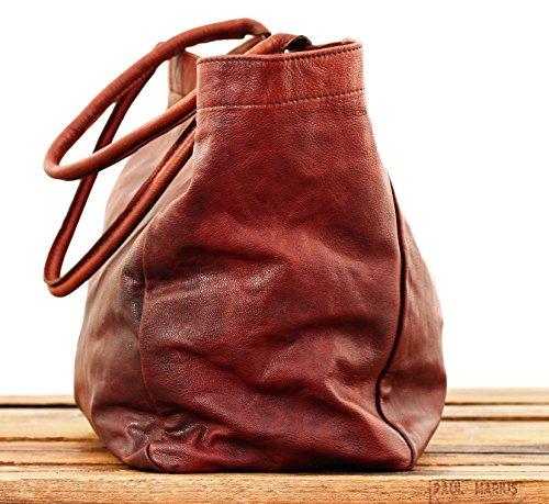 MON PARTENAIRE taglia M marrone oliato cuoio tote bag in stile vintage PAUL MARIUS Eastbay Venta En Línea El Envío Libre 2018 Nueva Tienda De Espacio Libre Para La Cantidad De Línea xx1Ud59d
