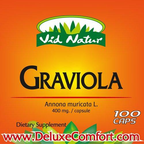 Graviola extraits purs x100 traitement caps-Alternative Cancer -