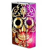 Decal Sticker Skin WRAP - Smok X Cube II 160W TC - Golden Skull Art Artwork Design Print Image