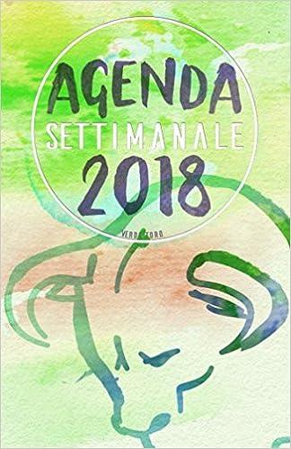 Amazon.com: Agenda Settimanale 2018 verde toro: Weekly ...