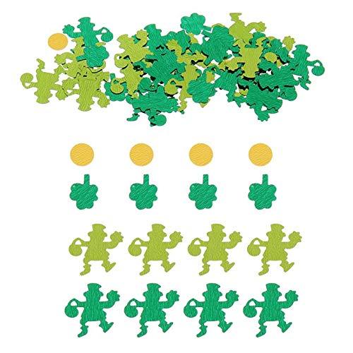Ants-Store - 50g Party Green Leprechaun Confetti Table