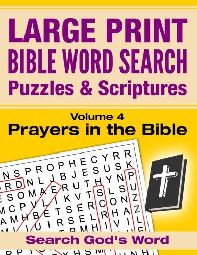 LARGE PRINT Puzzles Scriptures Prayers product image
