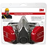 3M 62023HA1-C Professional Multi-Purpose Respirator, Medium