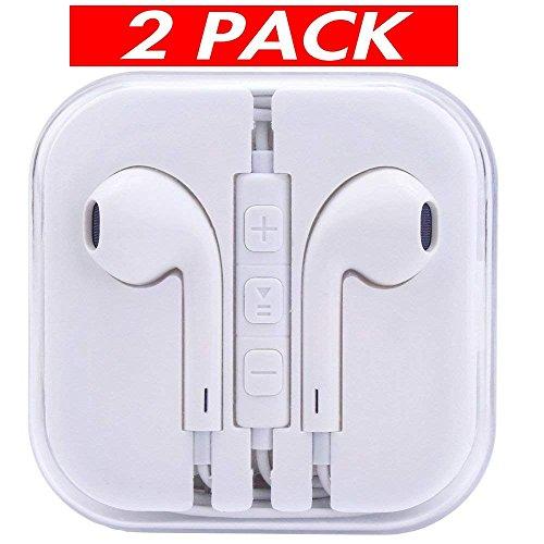 Earbuds, Wephone iPhone Headphones with Microphone for Apple iPhone 6s 6 plus 5s 5 4s 4 5c IOS 7 8 X Earbuds Earphones Headphones Earpods