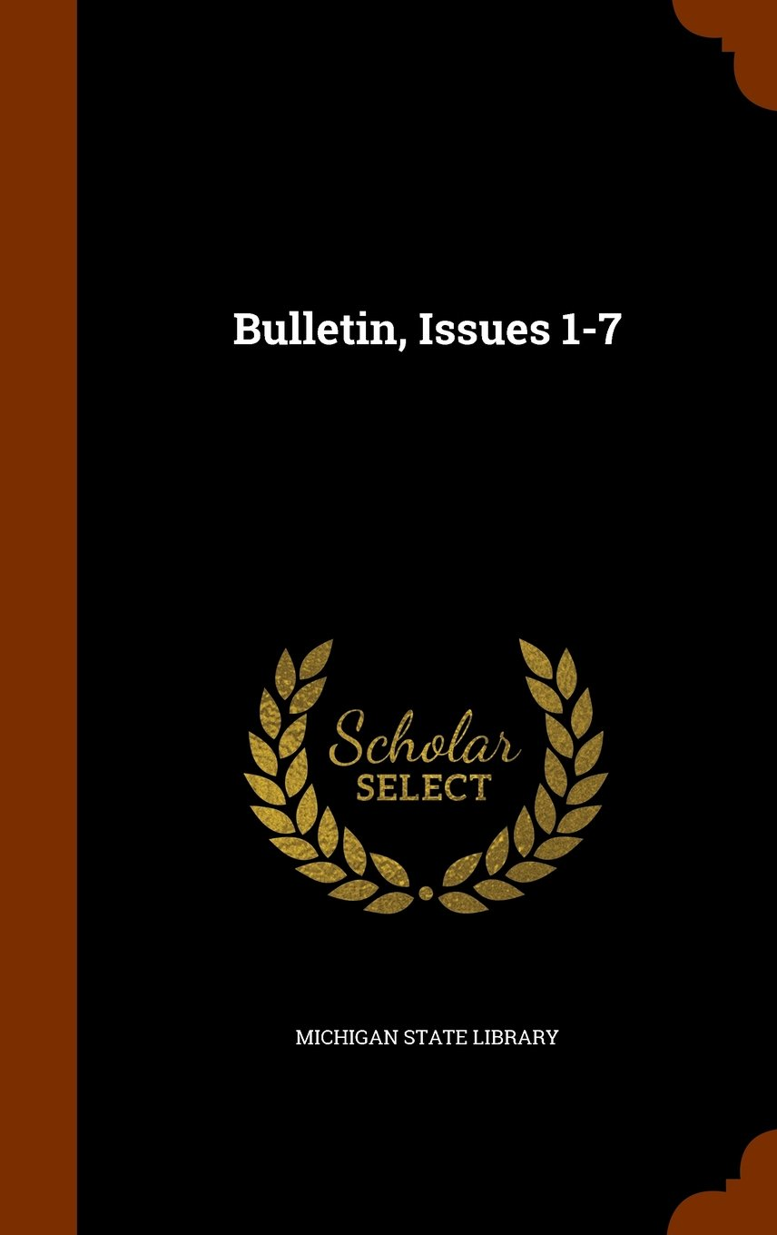 Download Bulletin, Issues 1-7 PDF