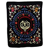 Northwest Kid's Colorful Character Micro Raschel Throw Blanket 46'' x 60'' (Coco Miguel)
