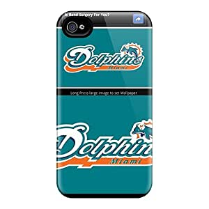 Premium Miami Dolphins Heavy-duty Protection Cases For Iphone 6plus