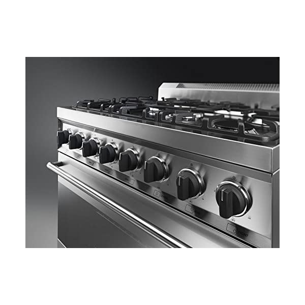 """Smeg C30GGXU1 30"""" Free Standing Gas Range with 5 Gas Burners and 3 Cooking Modes, Stainless Steel 5"""