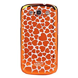 LCJ Heart-shaped Transparent Hard Case for Samsung Galaxy S3 I9300