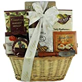 GreatArrivals Gift Baskets Taste Of Tuscany: Thank You Cheese & Snack Gift Basket, 4 Pound