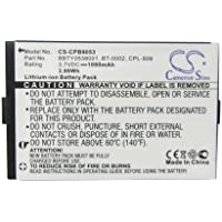 Cameron Sino BT-0002 Replacement Battery for Uniden ELBT-585 ELBT-595 ELT-560 ELBT595 ELT560 ELX500 ELITE-8855 ELITE-8815 ELITE8855 LBT595(HNDST) ELT560 (HANDSET) Cordless Phone Battery