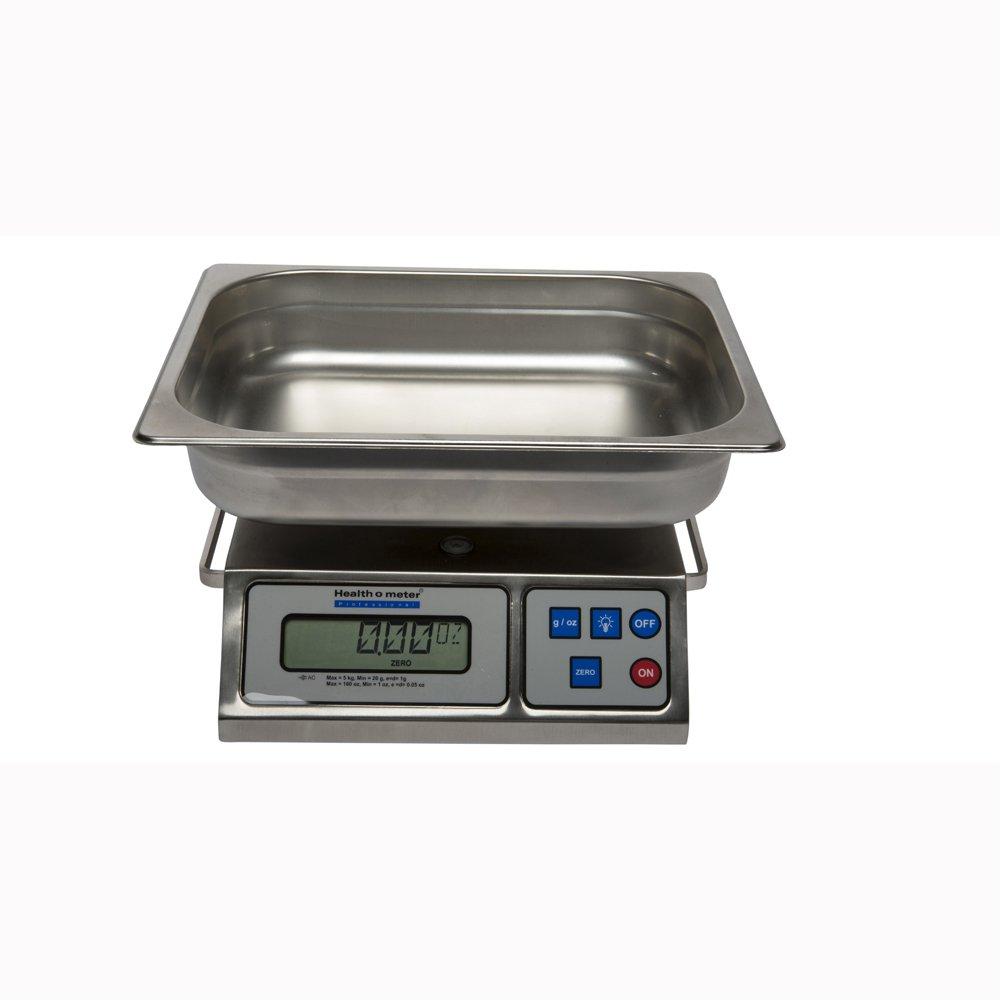 Health O Meter 3400KL Professional Digital Scale Digital Wet Diaper/Lap Sponge/Organ Scale