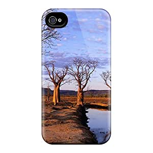Hard Plastic Iphone 4/4s Case Back Cover,hot Boab Trees On Kimberly Plateau Case At Perfect Diy