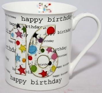 Happy Birthday Alles Gute Zum 16 Geburtstag Porzellan Tasse