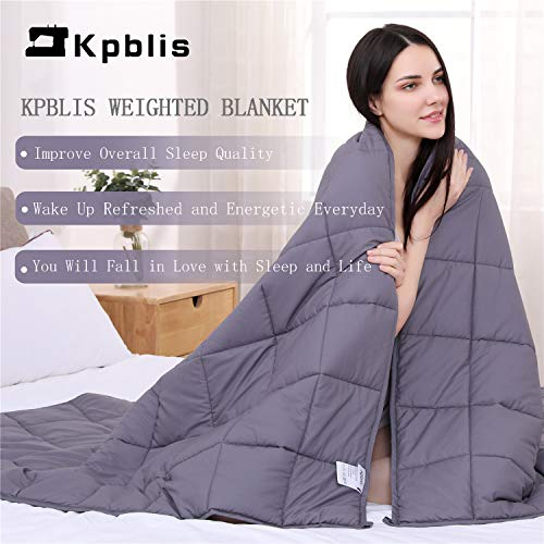 "Kpblis Weighted Blanket 10 lbs 40"" x 60"