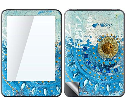 Tolino Vision 1 2 3hd 4hd Skin Gold Diamonds Sticker Handy Folie Aufkleber Wallpaper Schutzfolie Fuer Cover