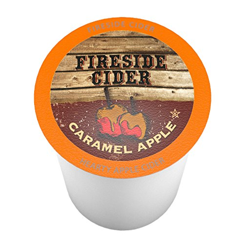 Smooth Caramel Apple - Fireside Cider Caramel Apple Single-Cup Cider for Keurig K-Cup Brewers, 40 Count