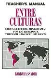 Entre Culturas, Barbara Snyder, 0844276693