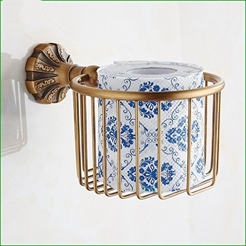 L.I. Accessories for Bathroom Antique Furniture in Copper Copper Paper Towels Door Retro Wiper-Any Paper Toilet Paper Shopping Cart Cart Cart Diamond (Diamond Wiper)