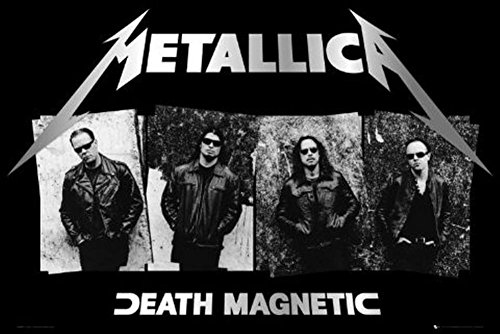Metallica Death Magnetic Heavy Metal 22x34 POSTER Poster Pri