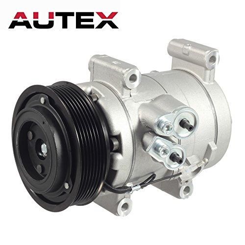 AUTEX AC Compressor and A/C Clutch CO 10835C 67677 68677 Replacement for Toyota Tacoma 2005 2006 2007 2008 2009 2010 2011 2012 2013 2014 2.7L 4.0L ()