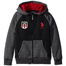 U.S. Polo Assn. Big Boys' Fleece Color-Block Jacket