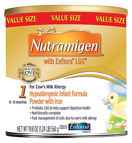 Image of the Enfamil Nutramigen with Enflora LGG Infant Formula, Powder, 19.8 Ounce Can