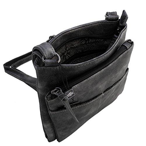 Black Bag Metallic Präsentiert Zmoka® Gray Von Jones Crossed Woman Gray Jennifer wq4YIpx
