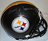 Dan Rooney Hand Signed / Autographed Pittsburgh Steelers Mini Football Helmet