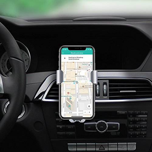 mobile vehicle Charger Steanum Qi Gravity vehicle Mount Air Vent cellular phone Holder easily cost for Samsung Galaxy S9 S8 S7 S7 Edge Note 5 Standard cost for iPhone X 8 8 Plus and Qi let units vehicle Cradles