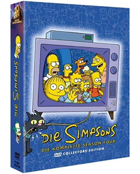 Die Simpsons - Die komplette Season 04 Alemania DVD: Amazon.es: Doris Grau, Marcia Mitzman Gaven, Doris Grau, Marcia Mitzman Gaven: Cine y Series TV