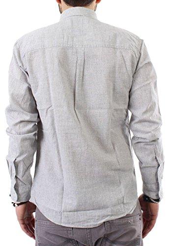 2–25314 shine chemise pour homme gris clair
