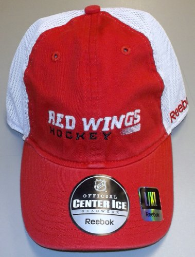 Reebok Detroit Red Wings Official Team Slouch Stretch Fit Hat - Detroit Red Wings Large/X Large