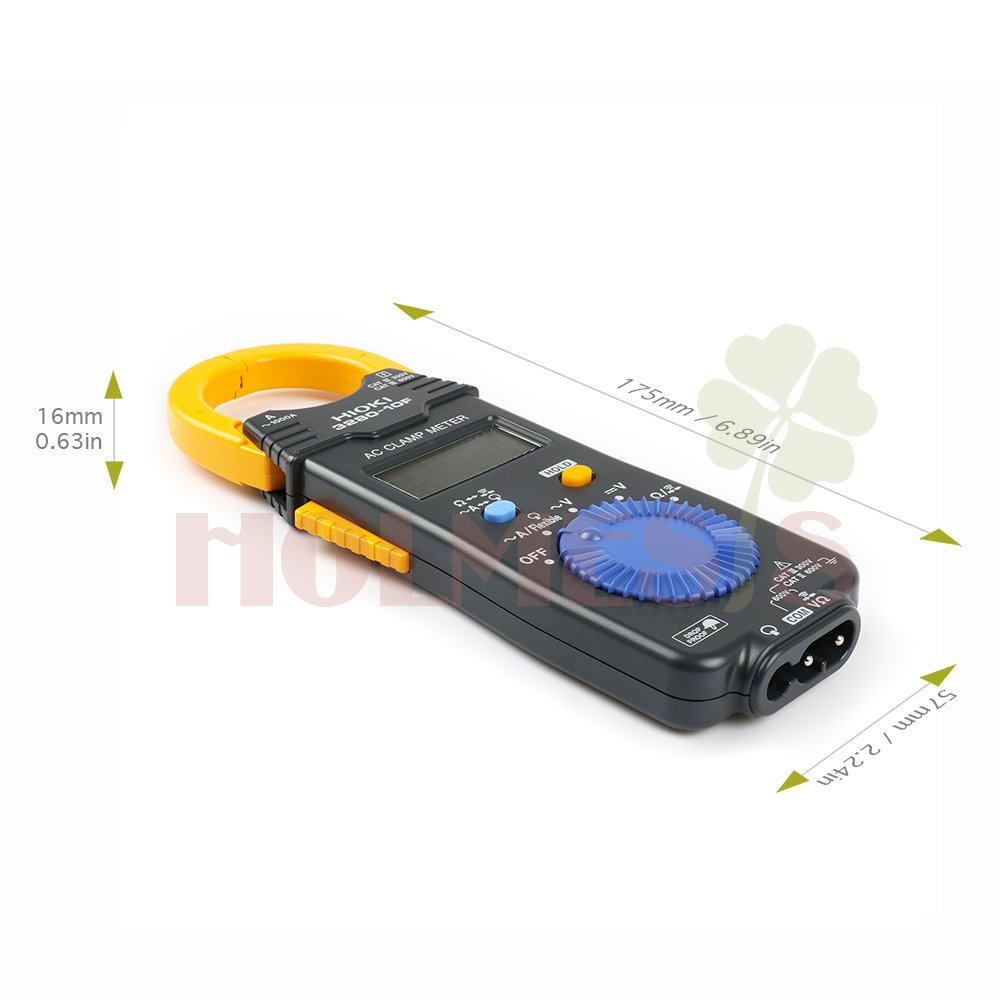 Hioki 3280 10f Ac Current Clamp Meter With Broad Operating 1000a Flexible Temperature Range Attachable Sensor And Drop Proof Durability