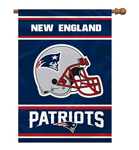 (Fremont Die NFL New England Patriots 2-Sided 28-by-40-Inch House)