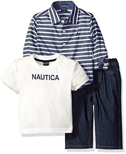 Nautica Three Sleeve Stripe Months