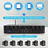 Wireless Home Audio Amplifier System - Bluetooth