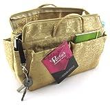 Periea Handbag Organiser, 13 Compartments - Keriea (Gold)