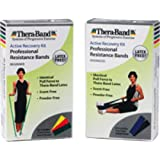 THERA-BAND Resistance Band Activity Recovery Kit; Advanced with Blue and Black Bands (Kit of 1 Kit)