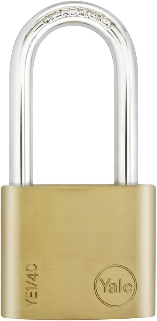 Yale YE1//40//140//1//B Security Long Shackle Padlock 40/mm