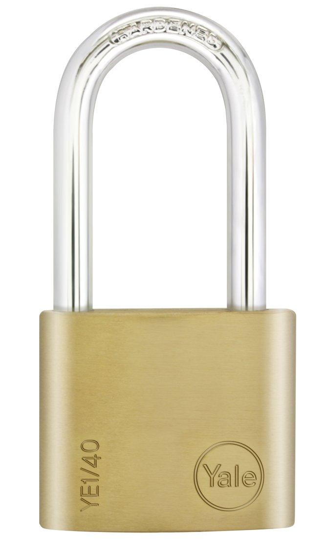 50 mm Yale YE1//50//166//1//B Candado de Seguridad de Arco Largo