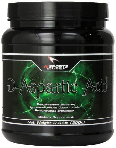 D-ASPARTIC ACID 300gm by AI Sports Nutrition