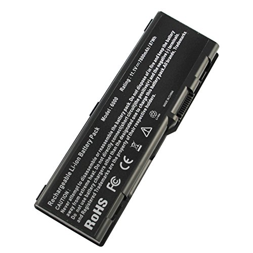 Futurebatt 9Cell 7800mAh Laptop Battery for Dell Inspiron 6000 9200 9300 9400 E1505n E1705, Precision M90, Inspiron M6300, XPS M170, XPS M1710, XPS Gen 2