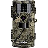 WiMiUS Hunting Trail Camera 20MP 1080P Game Cameras 2.4 LCD No Glow 42pcs 940nm IR LEDs Night Vision up to 70ft 0.2s Trigger Speed Waterproof Cam for Wildlife Monitor Farm Burglar and Home Security