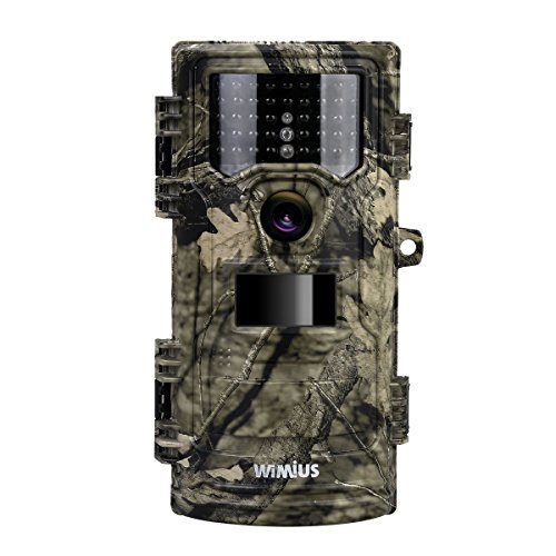 WiMiUS Hunting Trail Camera 20MP 1080P Game Cameras 2.4'' LCD No Glow 42pcs 940nm IR LEDs Night Vision up to 70ft 0.2s Trigger Speed Waterproof Cam for Wildlife Monitor Farm Burglar and Home Security by WiMiUS